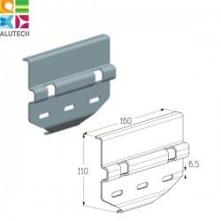 402811100 CP861 Alutech Пластина соединительная передняя (шт.)