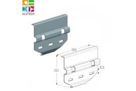 402811400 CP861S Alutech Пластина соединительная передняя (шт.)