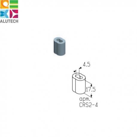 403940100 CRS2-4 Alutech Зажим (шт.)