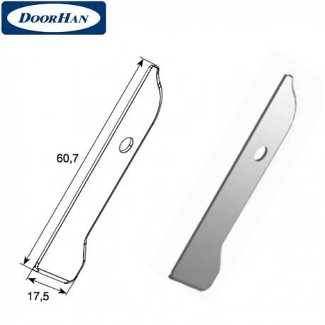 DH25164 DoorHan Крышка профиля карниза малого