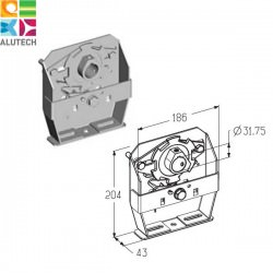 403730900 SBD-TSS5/4R Alutech Муфта предохранительная храповая (шт.)