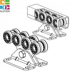 SGN.02.140 Alutech Опора роликовая (полимерные ролики), для ворот до 500 кг. Light (шт)