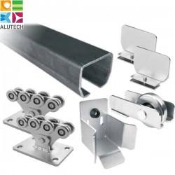 SGN.01 Alutech Система роликов и направляющих для ворот весом до 450 кг (шт)