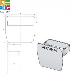 SG.02.600 Alutech Заглушка для направляющей шины SG.02.002, SG.02.001 (шт)