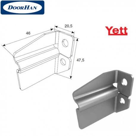 Y318 DoorHan Комплект кронштейнов крепления ригеля