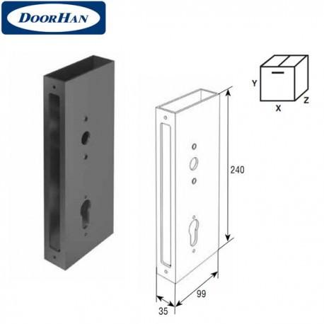 SPV0100 DOORHAN Профиль увеличенный с заклепкой под замок (шт.)