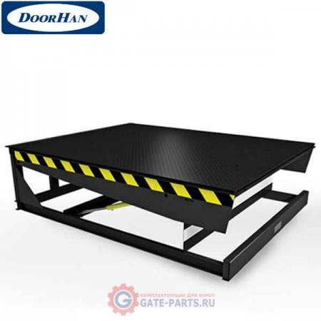DSI202005-(06)E DOORHAN Уравнительная платформа c телеск. аппарелью - 500мм встроен. типа 2000х2000 (комплект)