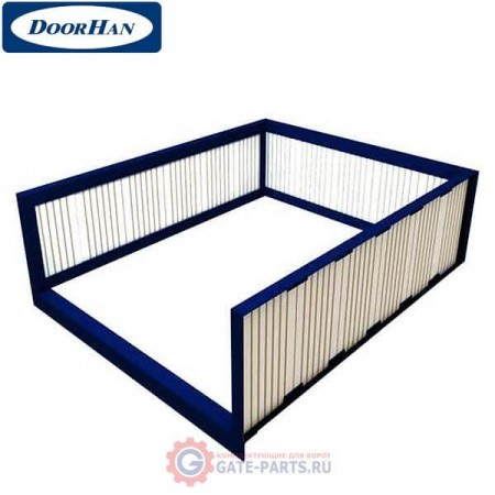 FDLHLI4518 DOORHAN Рама для бетонирования платформы с поворотн.аппарелью серии DLHHI L-4500мм,W-1800мм (шт.)