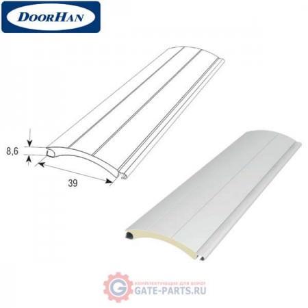 RH3901 DoorHan Профиль с мягким пенным наполнителем RH3901 белый (п/м)