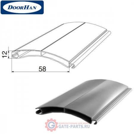 RHE58M03 DoorHan Профиль экструдированный RHE58M03 серый (п/м)