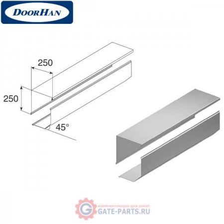 RB25003 DoorHan Короб защитный RB25003 серый (п/м)