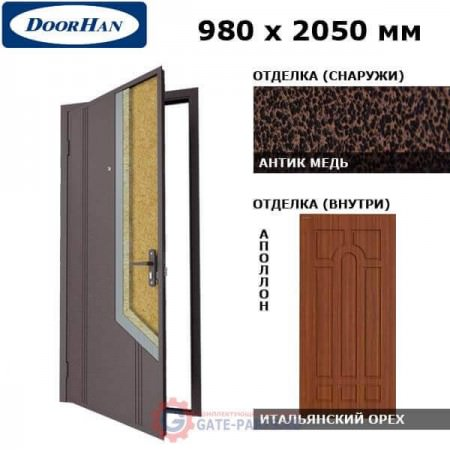 D-980-NO/AM/MPWI/AP/R/N/v Doorhan Дверь НЕО(O) - 980х2050, правая (шт.)