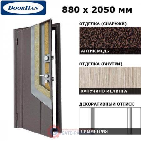 D-880-K/GS/AM/СM/L/N/sv Doorhan Дверь Комфорт - 880х2050, левая (шт.)