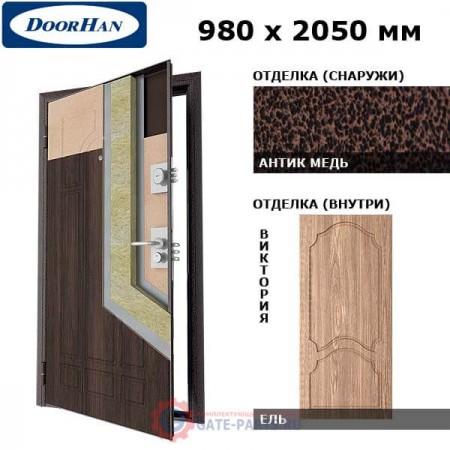 SD-980-P/AM/WWWI/R/N Doorhan Дверь Премиум - 980х2050, правая (шт.)