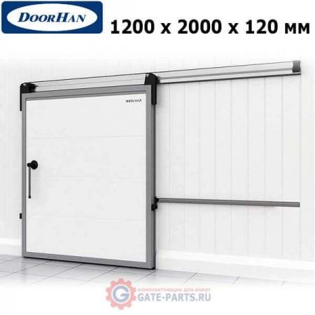 IDS1.12.120х200/R Doorhan Дверь откатная 1200х2000х120 для охлаждаемых помещений, правая (шт.)