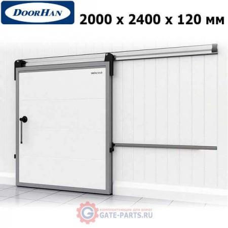 IDS1.12.200х240/R Doorhan Дверь откатная 2000х2400х120 для охлаждаемых помещений, правая (шт.)