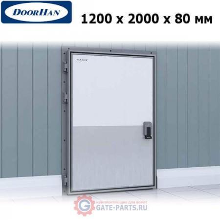 IDH1.8.120х200/L Doorhan Дверь распашная 1200х2000х80 для охлаждаемых помещений, левая (шт.)