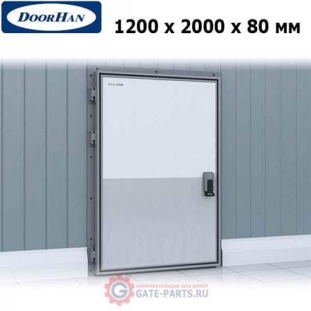 IDH1.12.80х180/L Doorhan Дверь распашная 800х1800х120 для охлаждаемых помещений, левая (шт.)