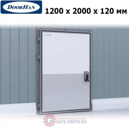 IDH1.12.120х200/L Doorhan Дверь распашная 1200х2000х120 для охлаждаемых помещений, левая (шт.)