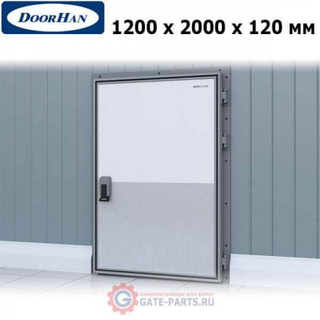 IDH1.12.120х200/R Doorhan Дверь распашная 1200х2000х120 для охлаждаемых помещений, правая (шт.)