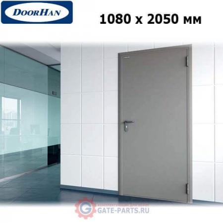 DTG/1080/2050/7035/R/N Doorhan Дверь техническая 1080х2050 одностворчатая, глухая, правая (шт.)