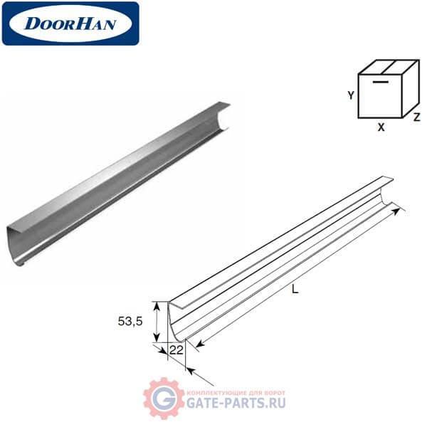 21100/M DoorHan Направляющая вертикальная (п/м)