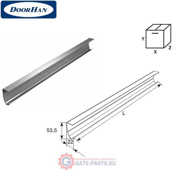 21100B/M DoorHan Направляющая вертикальная облегченная (п/м)