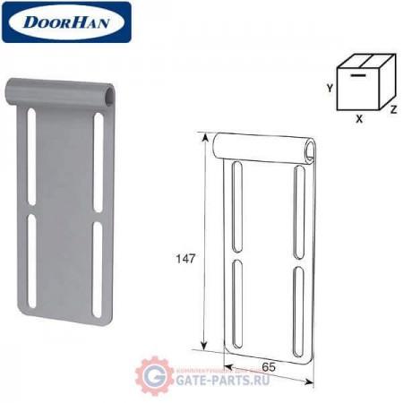 N25043NR DOORHAN Верхняя опора (для низкого подъёма) - (нержавеющая сталь 2мм) (шт.)