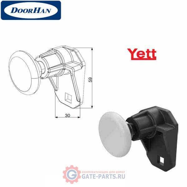 25570R/KT DoorHan Комплект держателя ролика верхнего (правый)