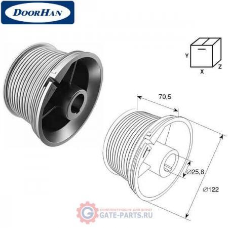 DH11011 DoorHan Барабан М 102, Н 3250 для стандартного подъема (пара)