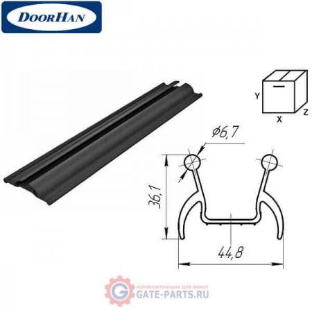 80042 DoorHan Уплотнитель боковой секционных ворот (погонный метр)