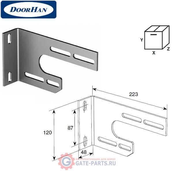 13025 DoorHan Кронштейн опорный внутренний универсальный
