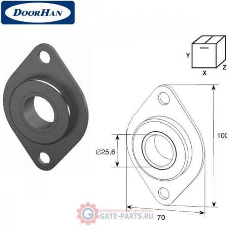 DH-OKT74 DOORHAN Пластина концевая с подшипником 1 (шт.)