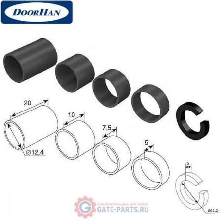 DH01RVP DOORHAN Комплект втулок распорных пластиковых (комплект)
