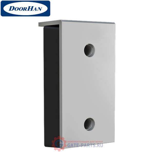 BRSP(16)465х250х165 Doorhan Бампер резиновый 450х250х100 со стальной рабочей накладкой 16мм (шт.)