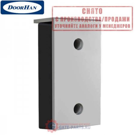 OE38 DOORHAN Бампер резиновый 450х250х100 с металлической рабочей накладкой (шт.)