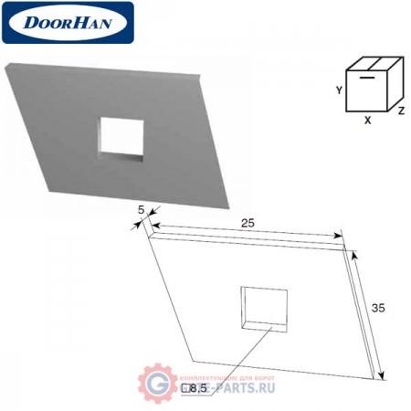 DH24619 DOORHAN Закладная пластина (шт.)