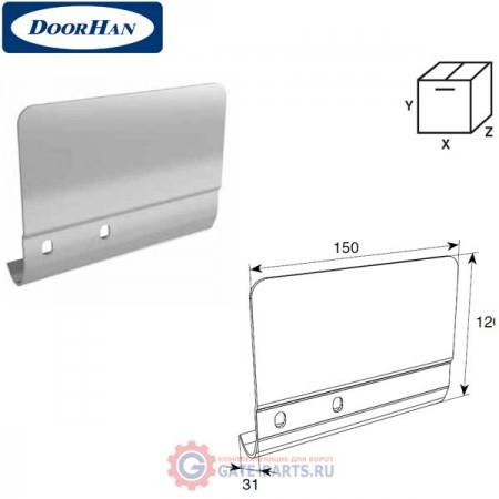 SPV-PT1L DOORHAN Соединительная пластина 120мм для вертикальных направляющих левая (шт.)