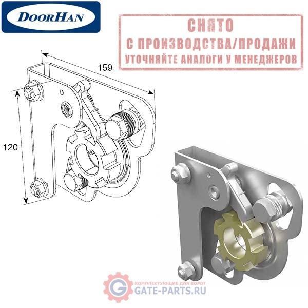 25449KR-BK DoorHan Устройство защиты от разрыва ПРАВОЙ пружины 50/67 без кронштейна