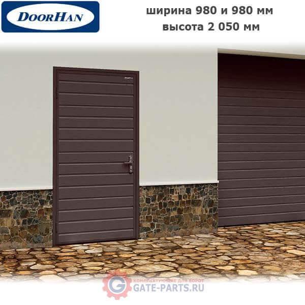 Гаражная дверь Ультра стандартных размеров