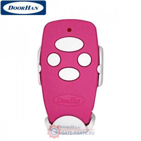 Transmitter 4-Pink Doorhan Пульт д/у 4-х канальный 433МГц розовый (шт.)