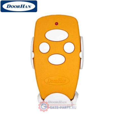 Transmitter 4-Yellow Doorhan Пульт д/у 4-х канальный 433МГц желтый