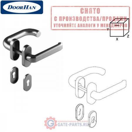 DH25133 DOORHAN Ручка для калитки секционных ворот. Штифт 8. Нержавеющая сталь (шт.)