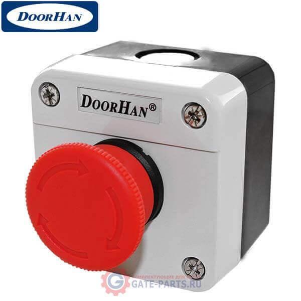 STOP Doorhan Кнопка STOP для аварийной остановки привода ворот и шлагбаума