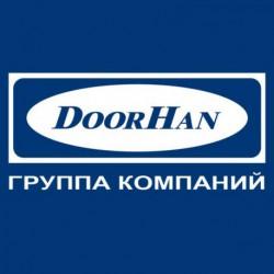 DH09575L DOORHAN Комплект ЛЕВЫХ ц-профилей под замок для панелей 575 (комплект)